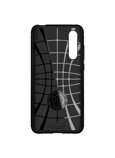 Spigen Xiaomi Mi 9 Lite Kılıf, Rugged Armor Siyah
